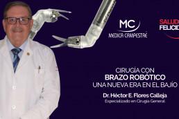 Cirugía con brazo robótico: Una nueva era en el Bajío