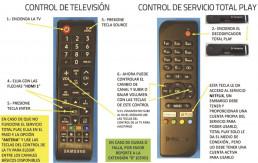 Controles de TV y Totalplay